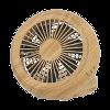ピエリアコンパクトデスク扇風機の画像です
