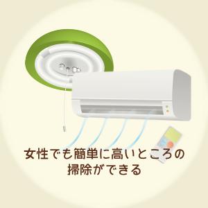 置き場所に困らない掃除機について説明している画像です